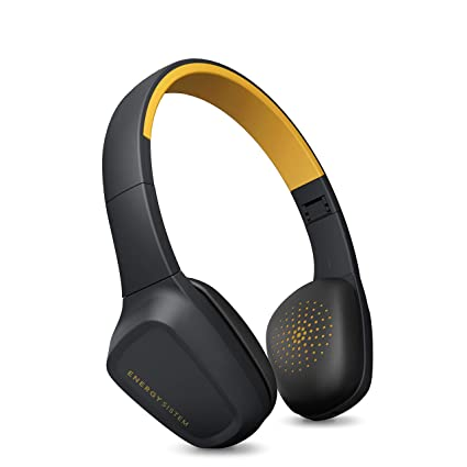 Energy Sistem Headphones 3 Bluetooth Yellow - Auriculares (Control por Voz, Audio-In