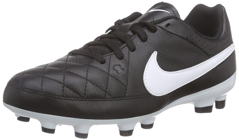outlet store a3c98 99a19 Nike Tiempo Genio Leather FG Mixte Enfant Chaussures de Football:  Amazon.fr: Chaussures et Sacs