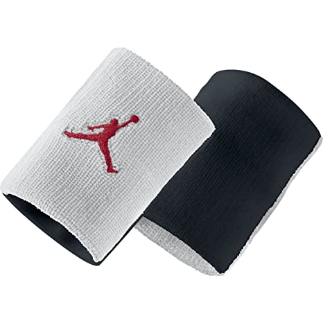 Nike Jordan Jumpman Polsino, Gym rosso/Bianco/Nero, Taglia Unica