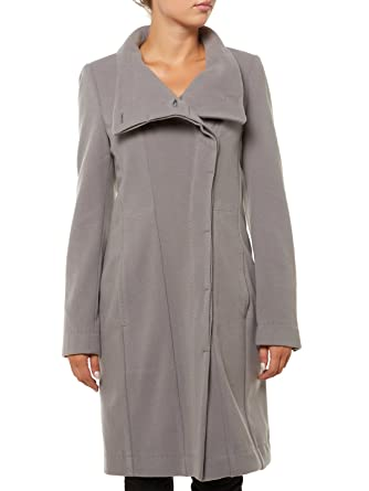 Drykorn Damen Jacke Kaschmir-Mantel READING, Farbe  Grau, Größe  L   Amazon.de  Bekleidung a4739e7a4d