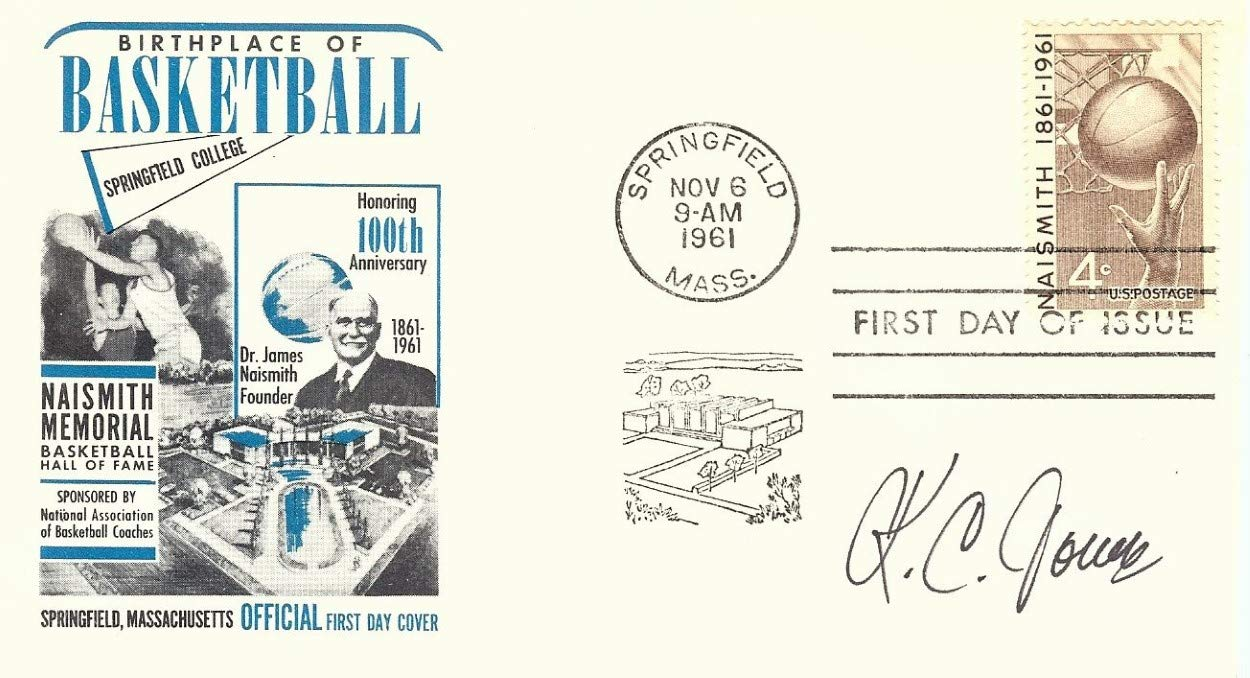 K.C. Jones Signed Autographed 1961 First Day Issue Cachet Celtics JSA AA84556
