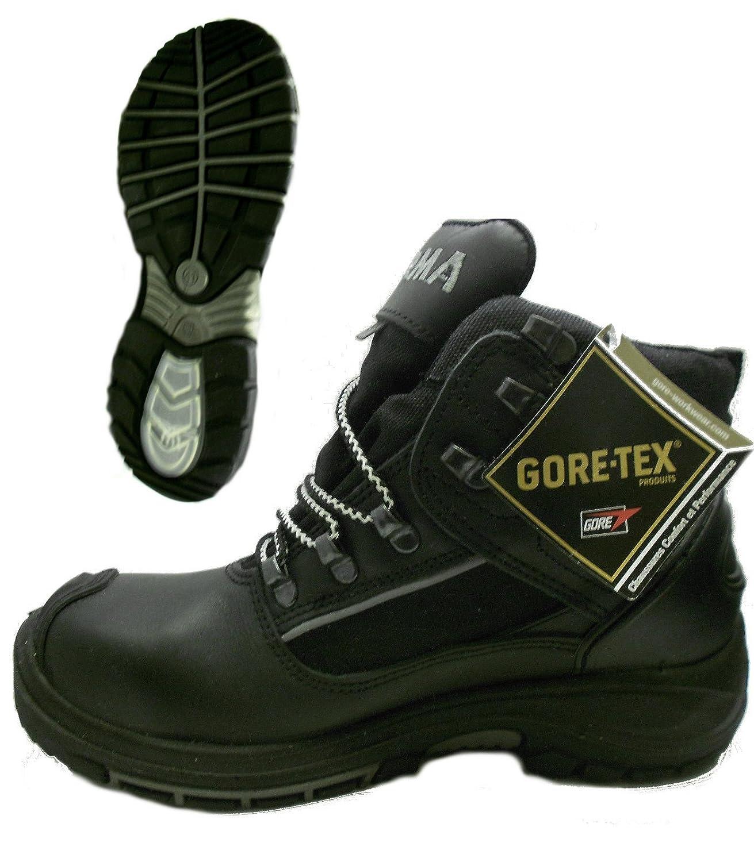 Wenaas Aqua Botas de trabajo zapatos de seguridad de Gore-Tex y cordura resistente piel negro Size: 39: Amazon.es: Zapatos y complementos