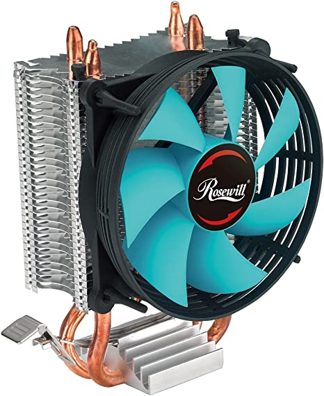 LED CPU Cooling Fan Silent CPU Cooler For Intel 775//1150//1156 AMD AM2+//AM3//AM3+