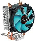 CPU Cooler with PWM CPU Cooling Fan & 2 Direct Contact CPU Heatsink Pipes Support Intel i3/i5/i7 CPU Socket LGA 775/1366…
