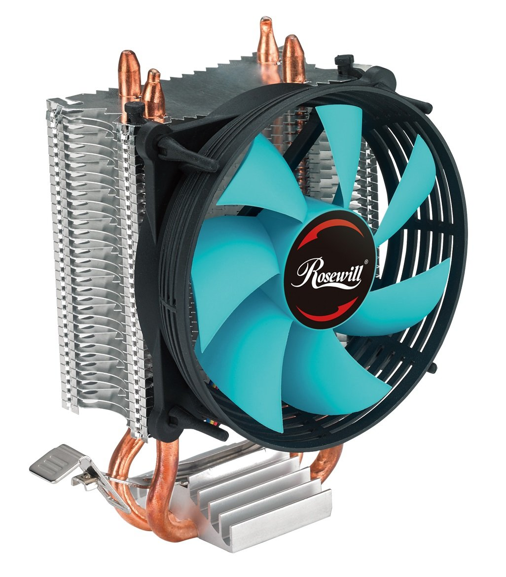 Cpu Cooler With Pwm Cooling Fan 2 Direct Contact The Resistor Is On Left Side Of Board Close To Heat Sink Heatsink Pipes Support Intel I3 I5 I7 Socket Lga 775 1366 1150 1151 1155 1156