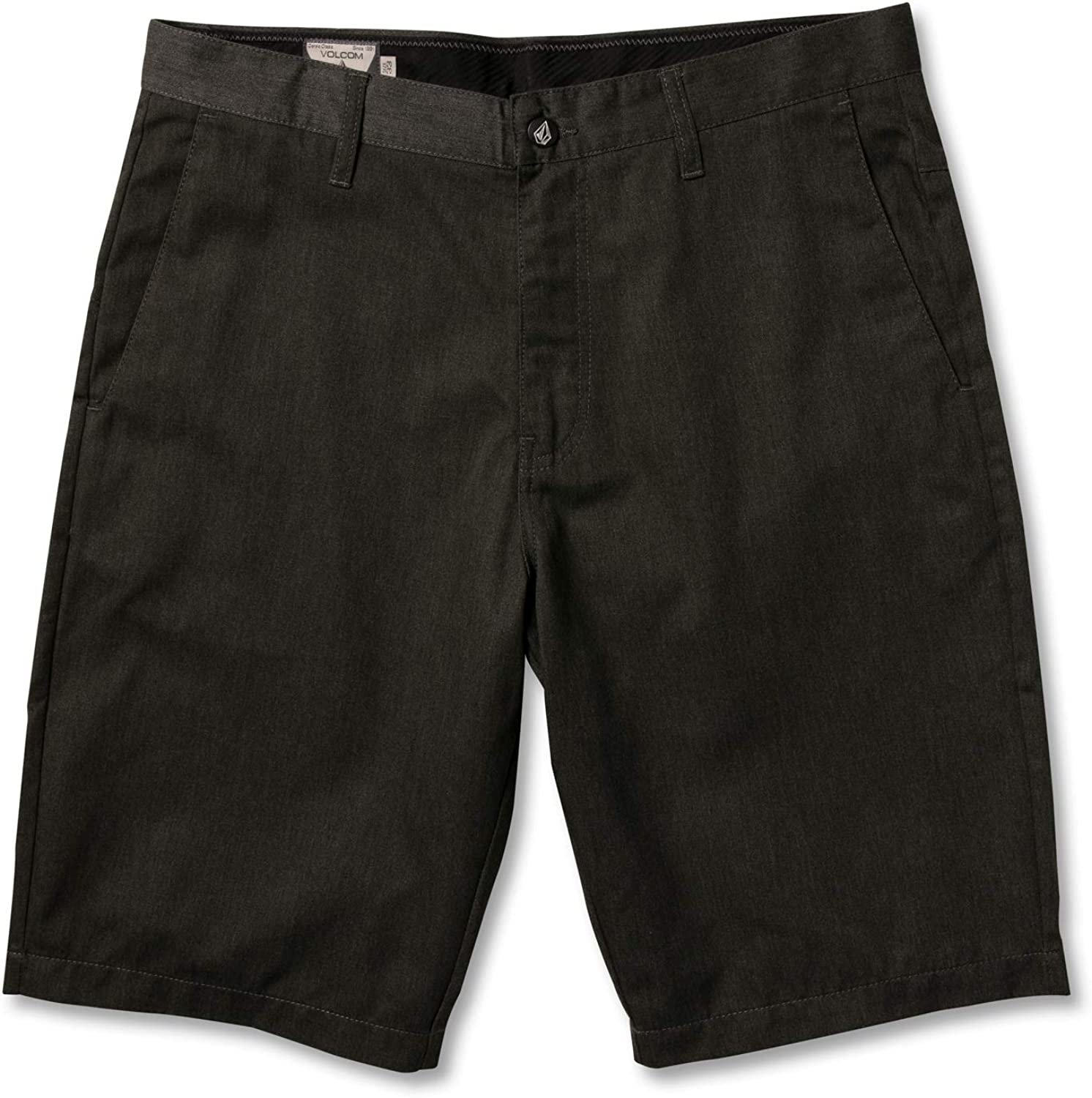 "Volcom Men's Vmonty 22"" Chino Shorts Charcoal Heather"