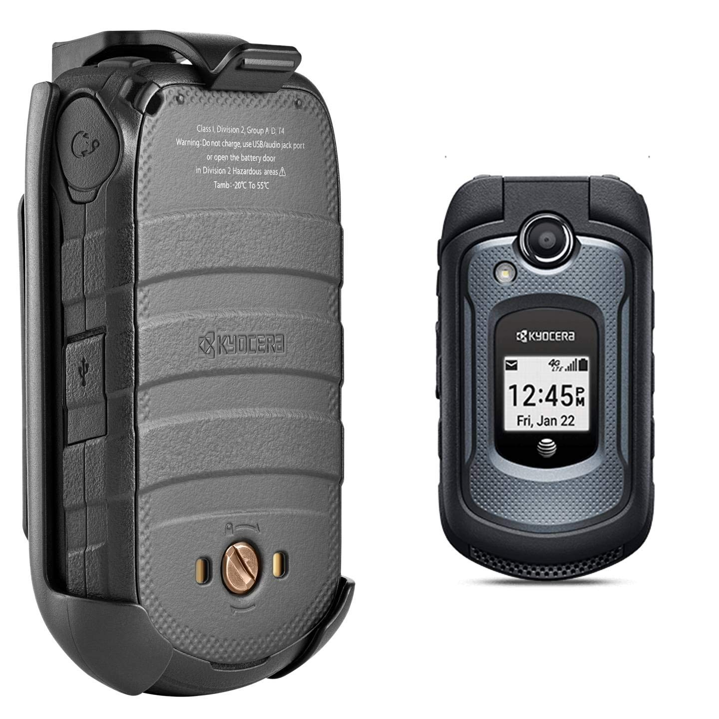 Kyocera DuraXE 4G LTE Rugged Mobile Flip-phone Unlocked for GSM