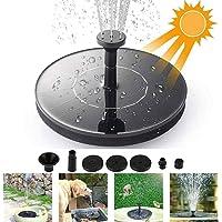 GEVO Solar Power Fountain Pump,Solar Water Feature Pump