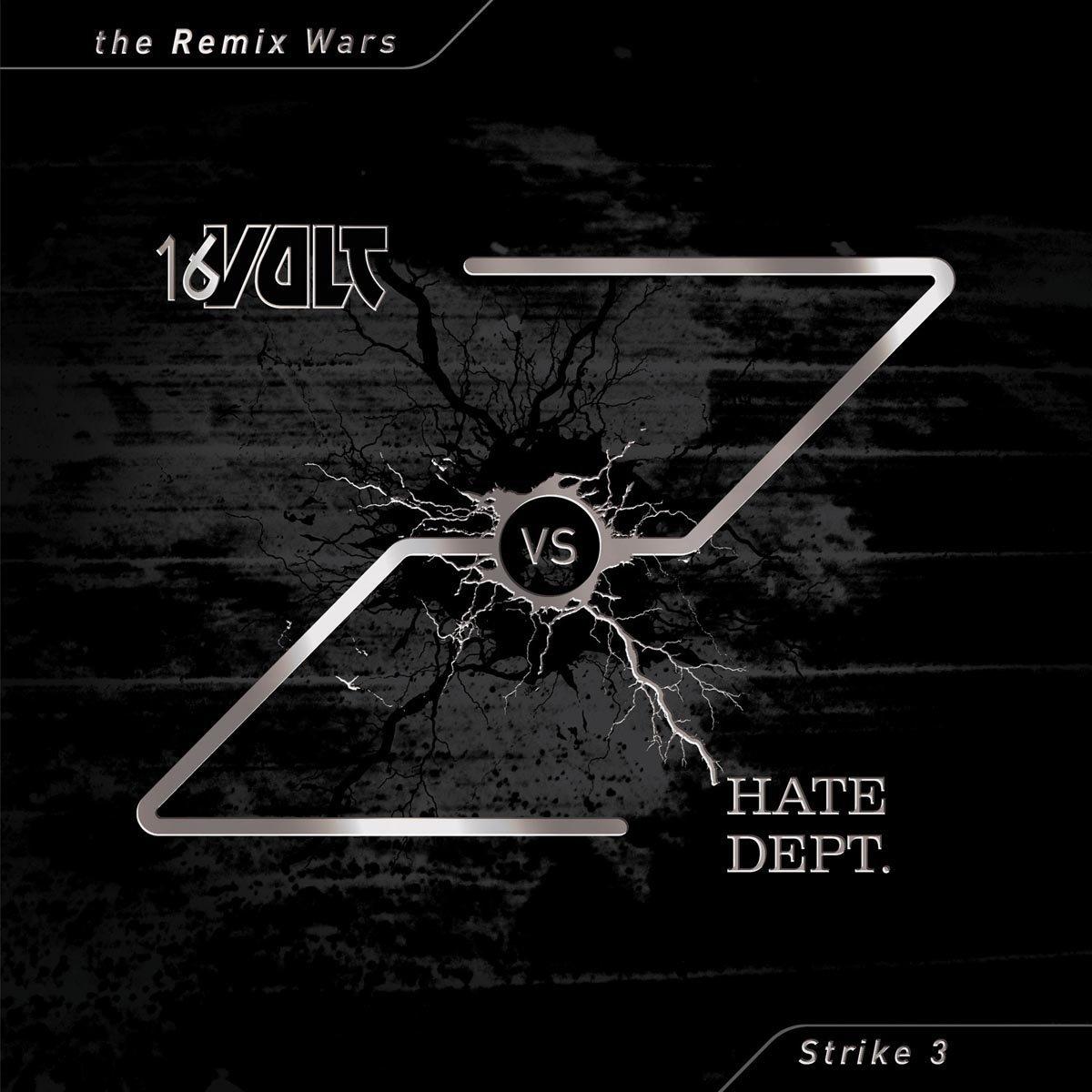 Vinilo : 16 Volt Vs Hate Dept. - Remix Wars, Vol. 3 (LP Vinyl)