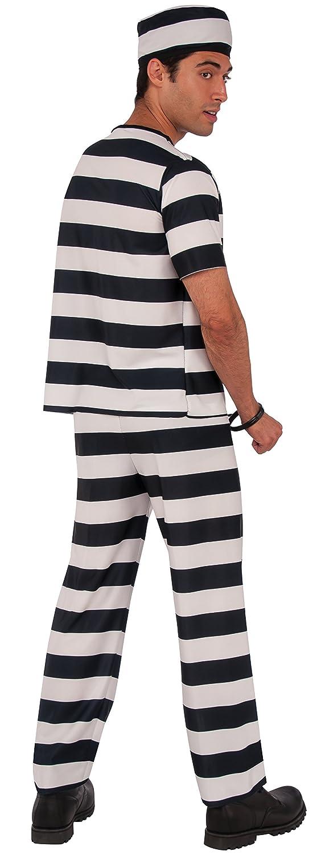 Rubies - Disfraz de prisionero para adultos (55029): Amazon.es: Juguetes y juegos