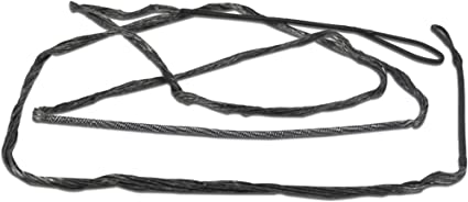 """45/""""amo Compound Hunting Bow Archery String~up to 100 LB~18 Strands~Black Dacron"""