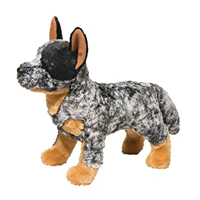 Douglas Bolt Australian Cattle Dog Plush Stuffed Animal: Toys & Games