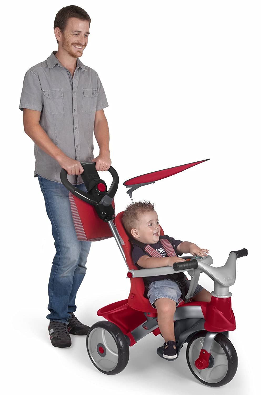 FEBER- Baby Trike Easy Evolution, Triciclo, Color Rojo, 24.9 x ...