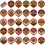 Flavored Coffee in Single Serve Coffee Pods - Flavor Coffee Variety Pack for Keurig K Cups Machine from Crazy Cups, 30…