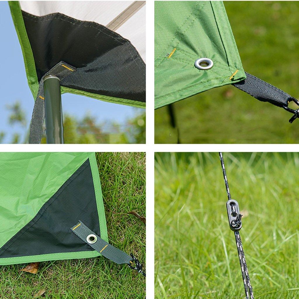 Li Li Na Shop Hexagon Markise Outdoor-Sonne Camping UV-Strand Shelter Zelt Camping Outdoor-Sonne Zelt Autotuch (Farbe   Weiß, Größe   520cm(204 inches)) 2d714c