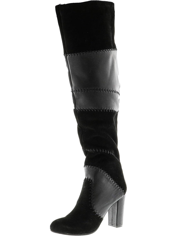 Bar III Naomi Spitz Leder Mode-Knie hoch Stiefel Stiefel Stiefel 9481b0