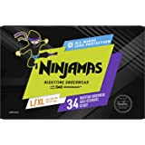 Pampers Ninjamas, Bedwetting Overnight Diapers Disposable Underwear, Nighttime Training Pants Boys, FSA HSA Eligible, 34 Coun