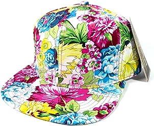 5d5184433 Pastel Floral Hawaiian Print Snapback