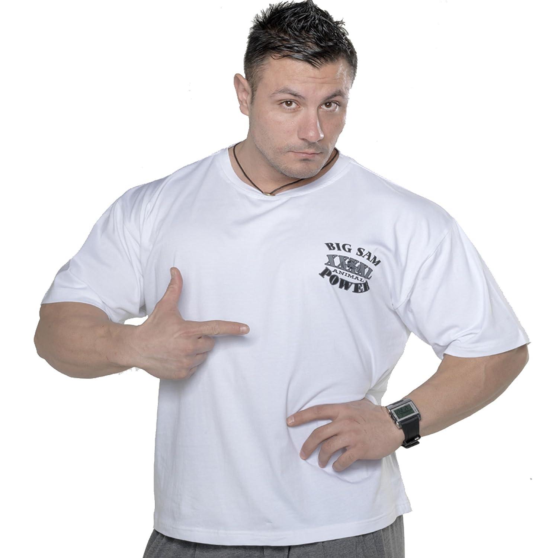 BIG SM EXTREME SPORTSWEAR Herren T-Shirt Stretch Shirt Bodybuilding Gym 2720