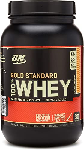 Optimum Nutrition 100 Whey Gold Standard, 8 Pound Vanilla Ice Cream
