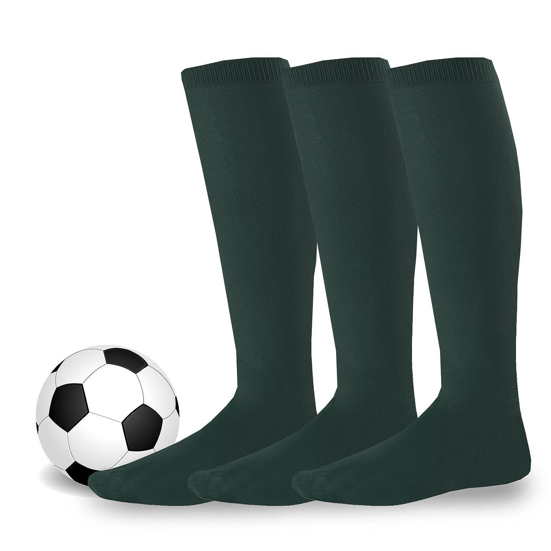 TeeHee Acrylic Unisex Soccer Sports Team Cushion Socks 3 Pack Soxnet Inc