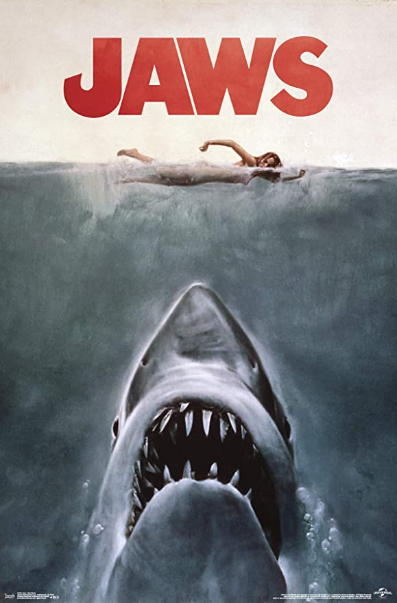 Framed Jaws Officially Licensed Movie Poster New