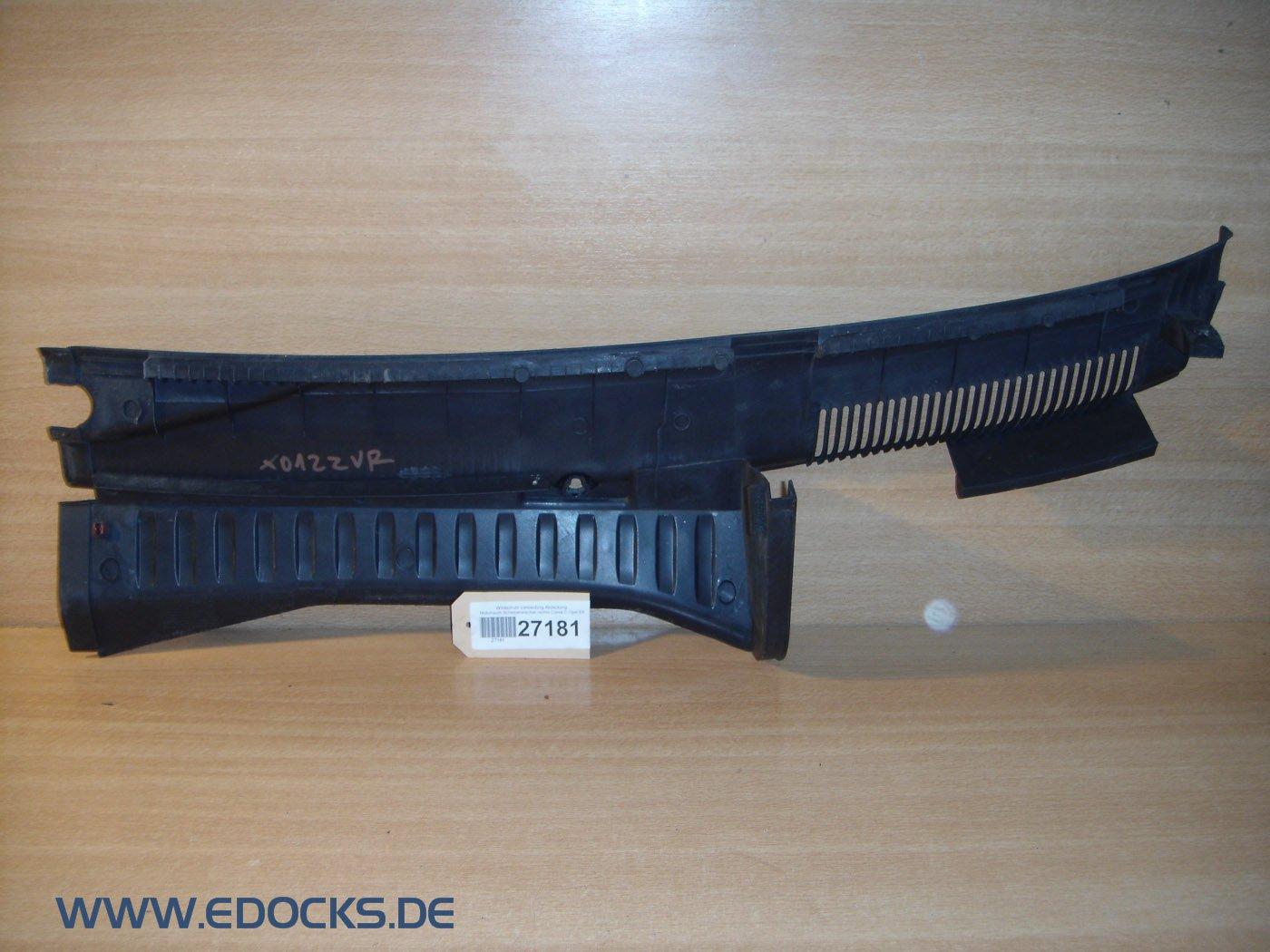 Viento protección cubierta protectora del motor Limpiaparabrisas derecho Corsa C Opel: Amazon.es: Coche y moto
