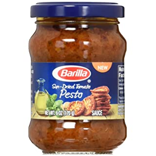Barilla Sun Dried Tomato Pesto Sauce, 6 Ounce (Pack of 8)