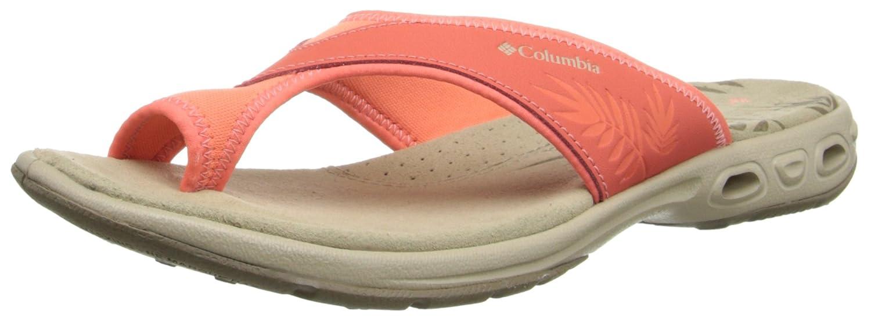 Columbia Women's Kea Vent Sandal B00KWKI4BA 5 B(M) US|Coral Flame/Fossil
