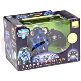 Transforming Robot to Race Car Remote Control (sold in colors red or blue)