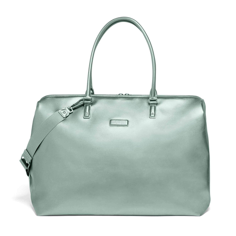 6f08dc105 Amazon.com | Lipault - Miss Plume Weekend Bag - Medium Top Handle Shoulder  Overnight Travel Duffel Luggage for Women - Aqua Green | Travel Totes