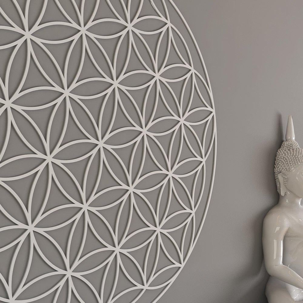 home wall of.htm amazon com homeartdecor flower of life sacred geometry wall art  flower of life sacred geometry wall art