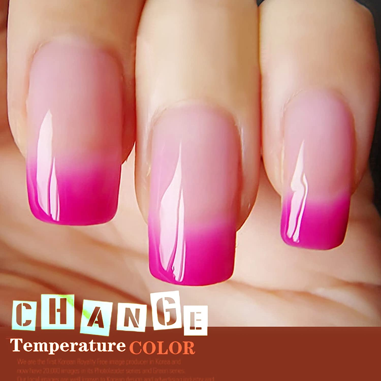 Color change online - Temperature Colors Changing 10ml Gel Nail Polish Uv Led Soak Off Manicure Starter Kits Pick Any 30pcs Then Email Us Beauty