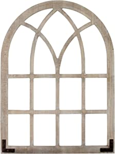 Stratton Home Décor Stratton Home Decor Window Arch Wall Décor, White wash