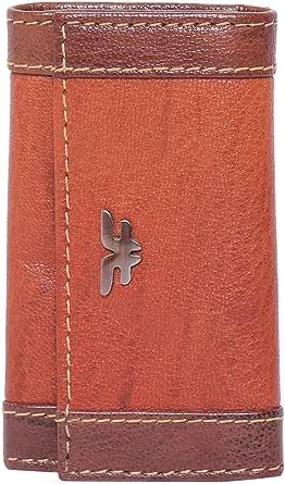 Laveri Leather Key Pouch - Brown