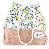 Biggdesign AnemosS Crab Beach Bag for Women - Multi Color