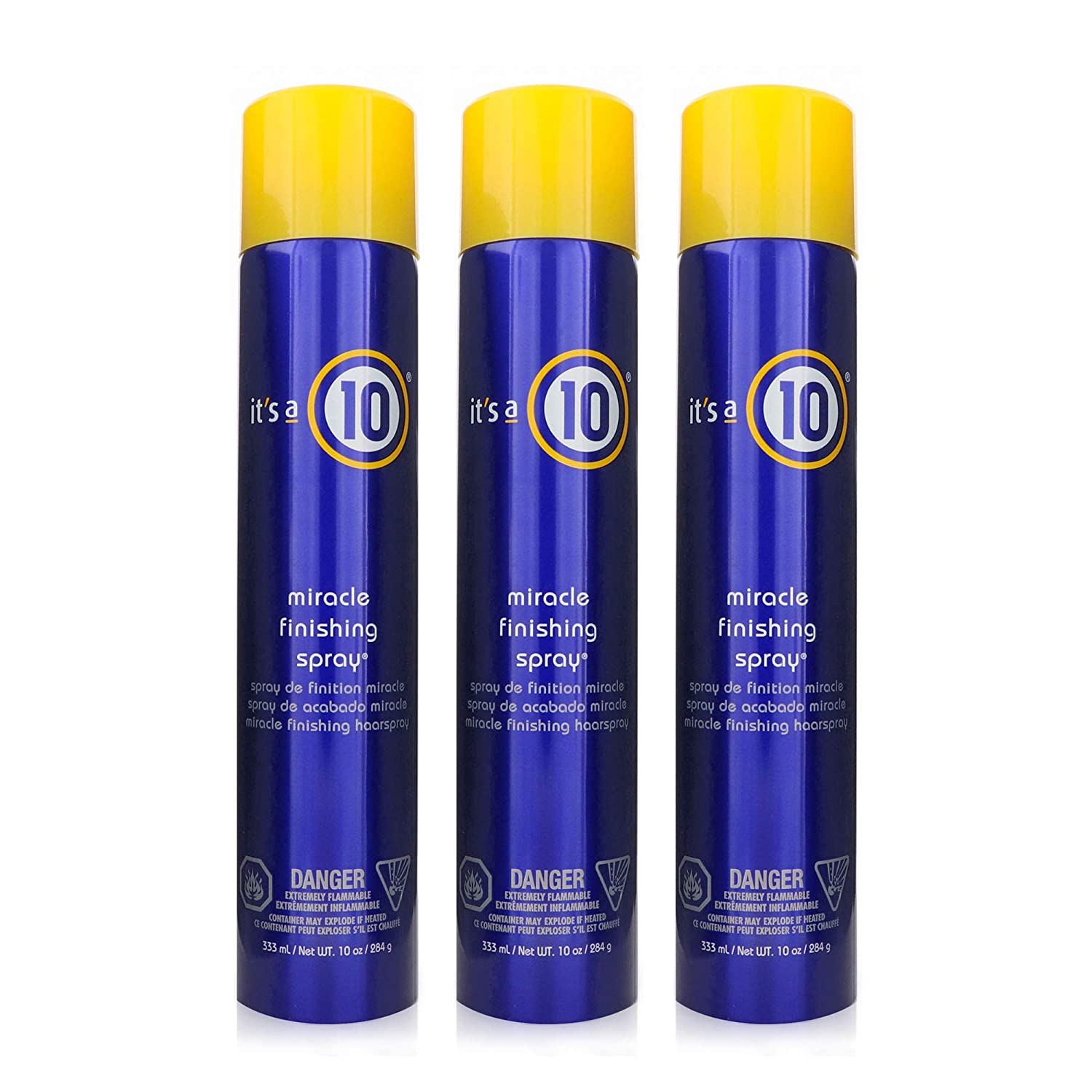 It's a 10 Haircare Miracle Finishing Spray, 10 fl. oz. (Pack of 3)