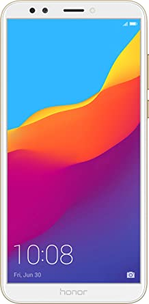 Honor 7C (Gold, 3GB RAM, 32GB Storage) Smartphones at amazon