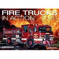 Fire Trucks in Action 2020: 16-Month Calendar - September 2020 Through December 2020