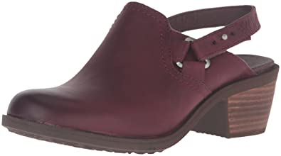 cbe29aff9f2a57 Teva Women s W Foxy Leather Clog