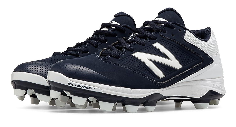 (ニューバランス) New Balance 靴シューズ レディースソフトボール Low Cut 4040v1 Plastic Cleat Navy with White ネイビー ホワイト US 8 (25cm) B014I8TUNM