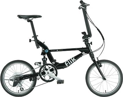 Topeak Bicicleta Plegable Jango Flik (Negro) Ezv9 18 Shimano Sora 11Kg 9 Velocidades Suspensión Trasera: Amazon.es: Deportes y aire libre
