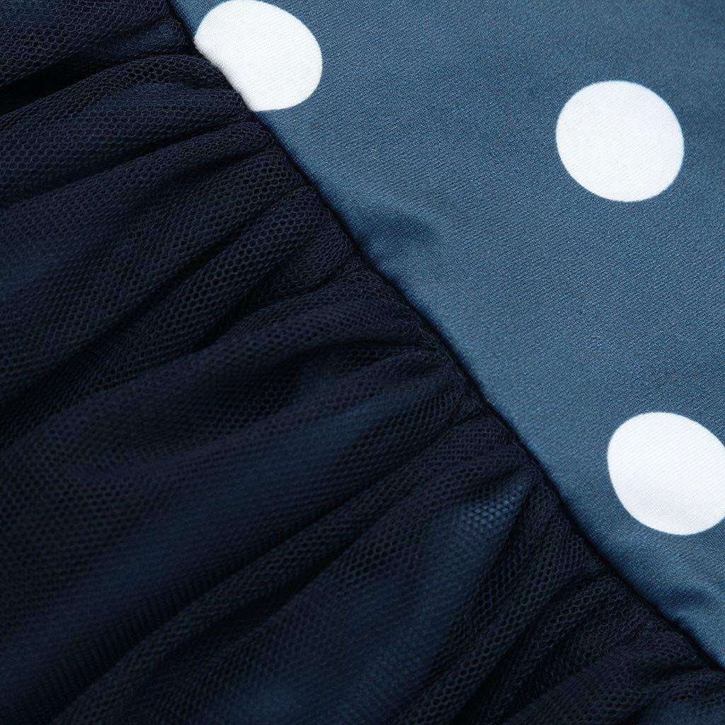 Hunputa Toddler Flower Girl Dress Winter Long Sleeve Tutu Party Dresses for Girls 3-7 Years Knee-Length