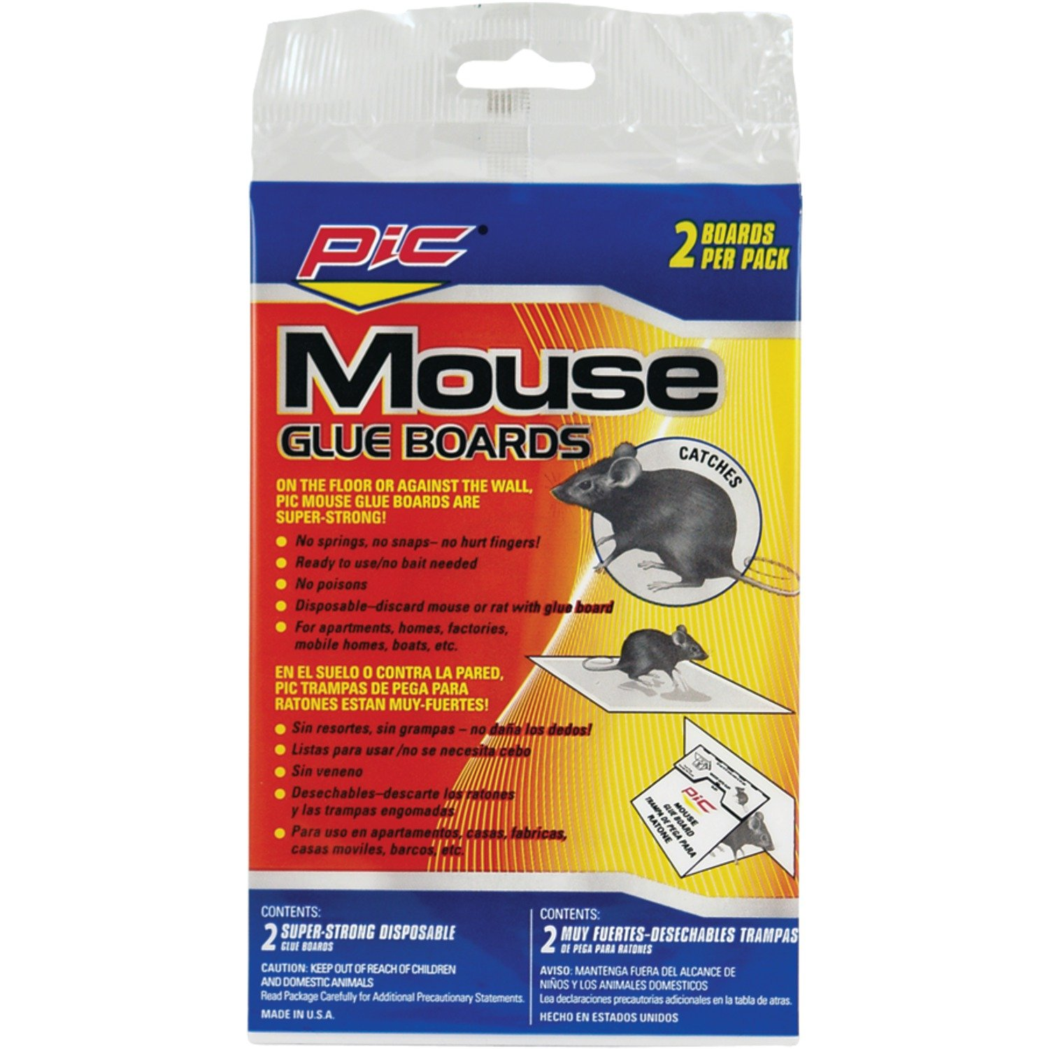 PIC GMT2F Glue Mouse Boards (24 Pack of 2) by PIC