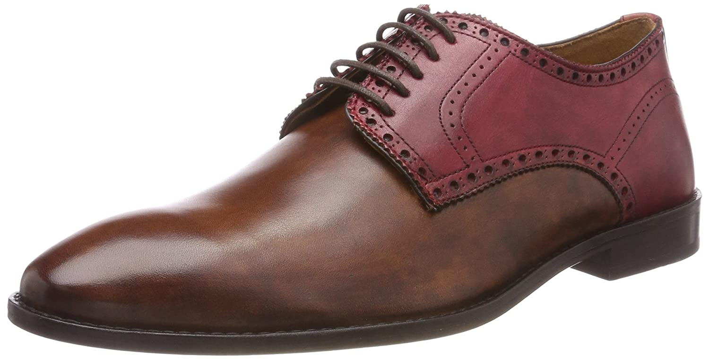 TALLA 43 EU. Sinnfonie Classic, Zapatos de Cordones Brogue para Hombre