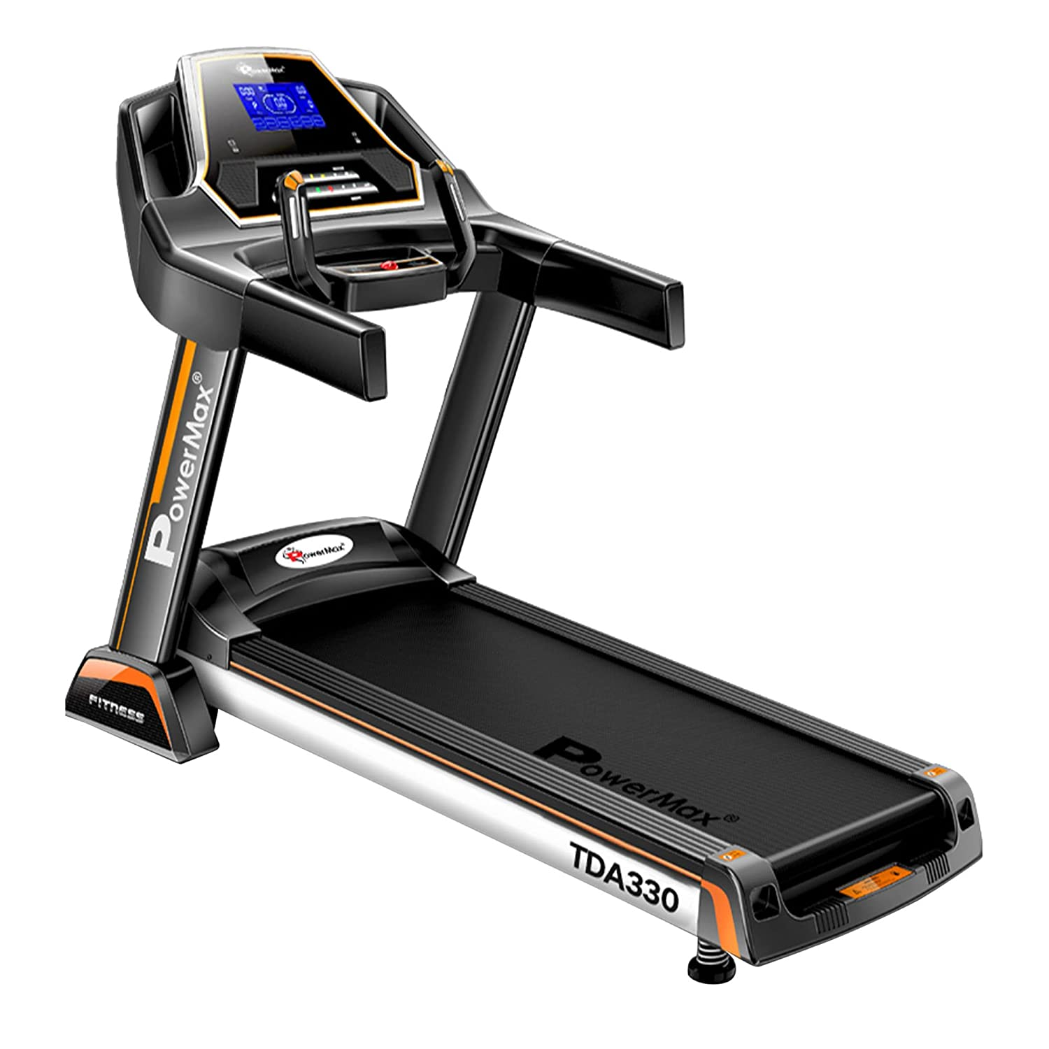 best treadmill for casual runners powermax fitness TDA330