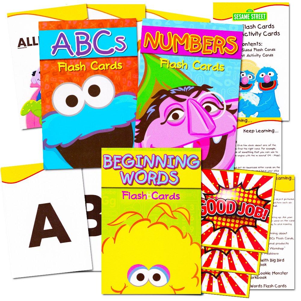 【新品、本物、当店在庫だから安心】 [フラッシュカード]Flash Cards with for Toddlers Sesame Street Street Cards Flash Cards Super Set Toddler Kids Over 100 Flash Cards with [並行輸入品] B01L0D1INI, デックマーケット:8515bd8f --- a0267596.xsph.ru