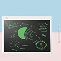 Proffisy LCD Writing Tablet, 2019 Upgraded Screen 16 Inch USB Rechargable Electronic Writing Board Doodle and Scribble Board Magnetic MeMO Notes for Kids and Adults at Home (16 Inch - White)