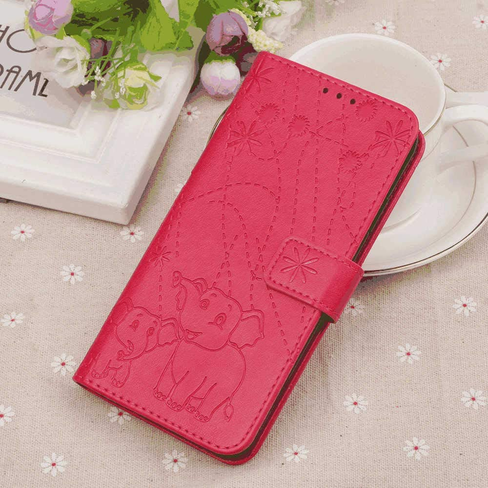 Leather Flip Case for iPhone XR Business Gifts Wallet Cover Compatible with iPhone XR with Universal Underwater Waterproof Case