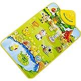 Ineternet Bébé Farm Animal Musical tactile jeu tapis Mat jouet